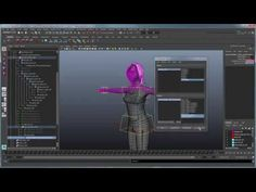 Creating a Character Rig: Appendix B - Toggling Squash and Stretch - YouTube