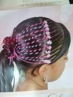 Fotos de peinados infantiles Little Girl Hairstyles, Toddler Hairstyles, Girls Braids, Hair Art, Little Girls, Hair Beauty, Hair Styles, Beautiful, Bobs