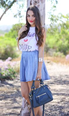 Girl next door fashion blogger Olia steps out with the Dylan Mini Speedy