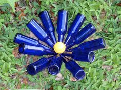 Beer Bottle Blossom  The Daisy by GnakedGnomery on Etsy, $15.00