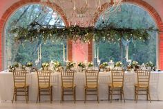 imperial table, hanging flowers  for a romantic wedding dinner. Flowers by Jardin Divers www.jardindivers.it @jardindivers wedding in tuscany, wedding flowers, Villa la Badia, romantic wedding, italian wedding, wedding destination, wedding in Italy, outdoor wedding, wedding in Florence, royal wedding, castle wedding, wedding inspiration, wedding idea, wedding design, flower design