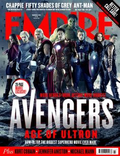 Empire Cover Avengers: Age Of Ultron