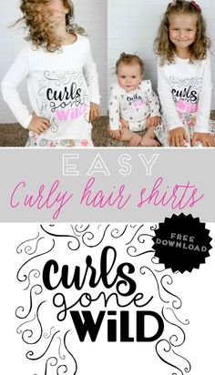 Curly Hair Shirts on