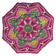 Persian Tile Crochet Blanket Kit