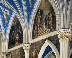 Mural Conservation, Basilica of the Sacred Heart, Notre Dame - Photo: Don Dubroff