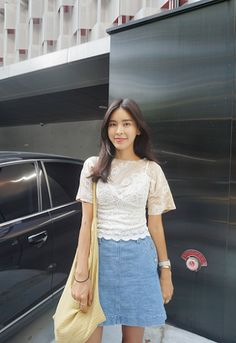 I Really Love Denim, Especially When They Are Skirts! | Jemarie's Asian Fashion Blog