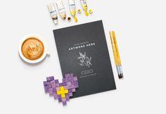 A4 Design Paper PSD Mockup - Freebies