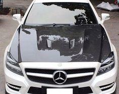 Boca-Carbon-Motorhaube-GFK-Basis-hnlich-BS-fr-Mercedes-W218-CLS-0