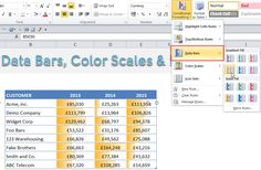 Pivot Tables in Excel are the most powerful feature in Excel. A Pivot Table analyzes lots of data with a few mouse clicks and drag & drop ease! Excel Cheat Sheet, Cheat Sheets, Microsoft Excel Formulas, Pivot Table, Computer Lessons, Color Scale, Skills To Learn, Earn Money From Home, Learning
