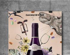 Garage Wines | Campaign  www.mpfxdesign.com