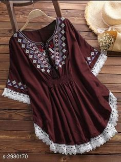Order western in on WhatsApp number or ArtistryC. Fancy Dress For Kids, Stylish Dresses For Girls, Casual Summer Dresses, Trendy Outfits, Western Dresses, Western Outfits, Corset Sewing Pattern, Kurti Embroidery Design, Whatsapp Messenger