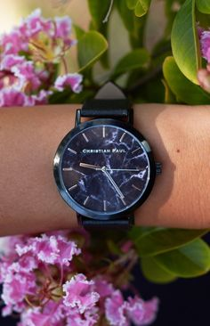 The Strand Marble Watch