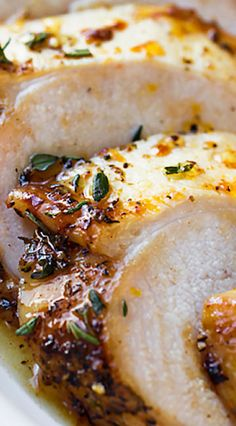 The perfect alternative to roasting a whole turkey, these savory roast turkey breasts are glazed with orange, spiced honey, and roasted to perfection. Thanksgiving Recipes, Holiday Recipes, Thanksgiving Turkey, Christmas Recipes, Turkey Recipes, Chicken Recipes, Turkey Dishes, Roast Turkey Breast, Roasted Turkey