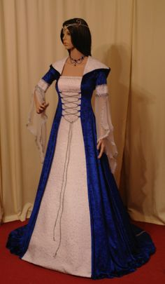 medieval handfasting renaissance dress custom by camelotcostumes, £179.00