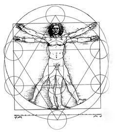 Da vinci, square the circle,  circle the square , metatron's cube