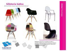 Muebles para hoteles - Sillas de diseño
