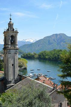 Lago di Como, Isola Comacina, Lombardy, Italy