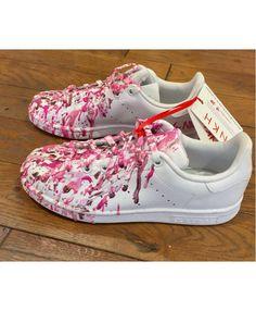 Adidas Stan Smith Womens white pink Sale Discount Adidas 59eb41b5b