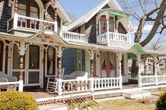 Gingerbread Houses Martha's Vineyard Illuminations   Oak Bluffs gingerbread houses