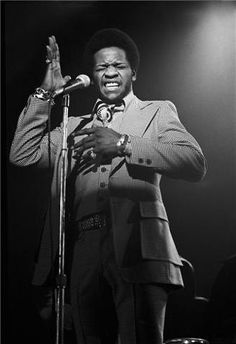 Great photo of Al Green, one of my favorite soul singers. He wasn't on Stax but I still consider him to have had that Memphis sound. Y'all gon make me put on some Al Green right now!