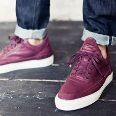 Low Top Leather Trainer by Filling Pieces