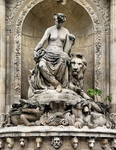 Cuvier Fountain by *Checco*, via Flickr