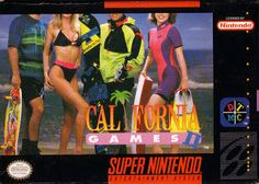 Emularoms: California Games 2 [ SNES ]