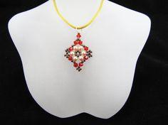 Light Siam Swarovski Crystals and Cream by CrownJewelsGoddess