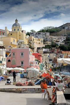 Italy Travel Inspiration - Procida Italia