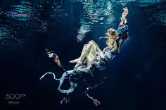 Underwater TopModelPolska by Rafal Makiela on Conceptual Photography, Underwater Photography, Happy End, Photo Grouping, Photo Boards, Underwater Photos, You Are Awesome, Photo Manipulation, Dubai
