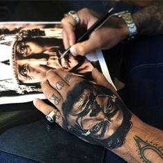Salvador for my friend from Malta K Tattoo, Tattoo Inspiration, Salvador Dali, Malta, Ink, Photo And Video, Black Work, Instagram Posts, Malt Beer