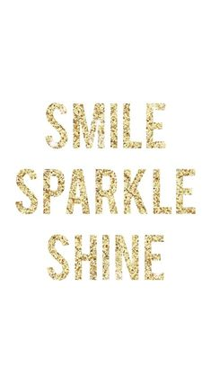 Smile, Sparkle, Shine Art Print by Jeans and Tees and Travel and Cakes   Society6