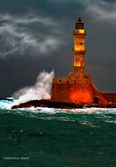 ΦΑΡΟΣ ΧΑΝΙΑ – LIGHTHOUSE CHANIA by Chriss Zikou on 500px
