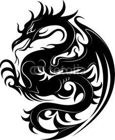☆SOLD!☆ #Dragon #Tattoo http://it.fotolia.com/id/24288918#