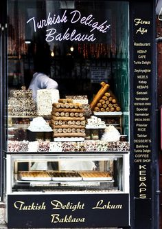 So apparently baklava is a must! I've put it at the top of my to-do list. =D Firuz Aga, Istanbul.