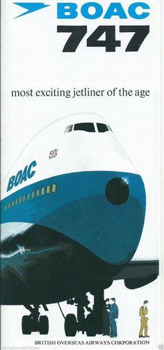 BOAC 747 Brochure