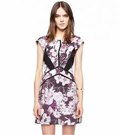 Pixie Market Viola Floral Dress