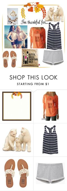 """I'm Thankful❤️"" by hannah-dancer-9 ❤ liked on Polyvore featuring Lenox, Splendid, Billabong, rag & bone/JEAN, Sephora Collection and imthankfulfor"