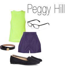 Peggy hill in leggings