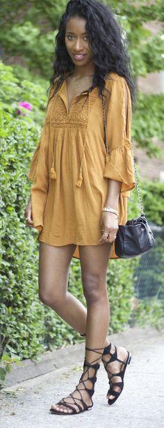 Boho Dress Summer Style