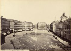 """old photo """"Puerta del Sol"""", Madrid Spain Old Pictures, Old Photos, Travel Around The World, Around The Worlds, Foto Madrid, Old Photography, Piazza Navona, Spain Travel, Historical Photos"""