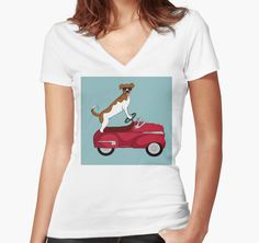 Driving Dog by SMHickman