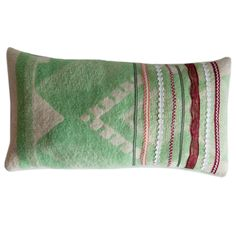 kussen maken van oude wolle dekens
