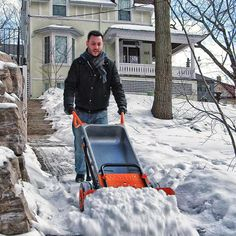 The snow is going to fly and you want to have the best tools available to deal with it. Try these snow removal tools to tackle the task, whether you're shoveling a front walk or taking care of a long driveway.