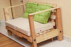 Pallet sofa #PalletSofa