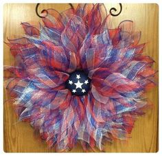 A Noble Touch Patriotic Wreath, like us on Facebook.