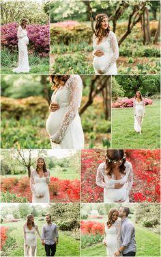Garden Maternity Photos