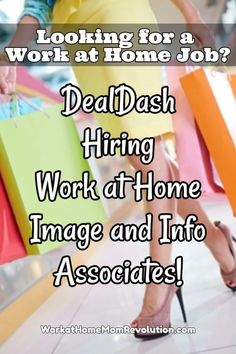 DealDash is hiring work at home image and information associates in the U.S. Compensation for these work from home roles is $15.00 to $20.00 per hour. Awesome home-based job opportunity! Moms! You can make money from home!
