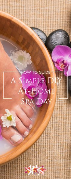 DIY Foot soaks are a great way to soothe and soften your tired achy feet. Explore DIY beauty recipes you can enjoy in the comfort of your own home http://www.purefiji.com/blog/diy-home-spa/ | Natural products for natural beauty
