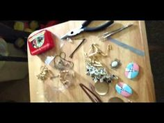 DIY: Making your own hair accessories--Jeweled Hair clips (all parts)